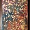 Abstrakt, Blumen, Farben, Mischtechnik