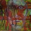 Menschen, Farben, Modern art, Malerei