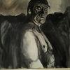Menschen, Schwarz, Modern art, Malerei
