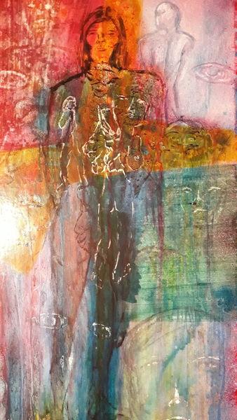Menschen, Modern art, Abstrakt, Malerei
