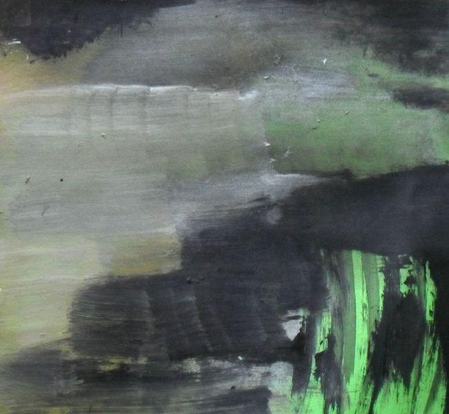 Grün, Gefangen, Schwarz, Malerei