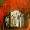 Rot, Auszug, Exodus, Malerei