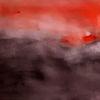 Rot, Verlauf, Schwarz, Malerei
