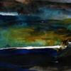 Blau, Landschaft, Himmel, Malerei