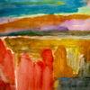Felsen, Rot, Malerei