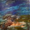 Meer, Flut, Natur, Malerei