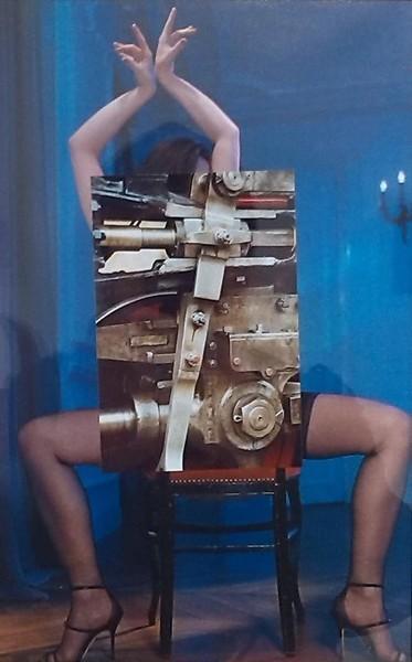 Coll, Collage, Mischtechnik,
