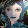 Acrylmalerei, Malerei, Gesicht, Modern art
