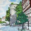 Fulda, Kanalstraße, Braunsche röhre, Geburtshaus ferdinand braun