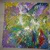 Malen, Abstrakt, Bunt, Malerei