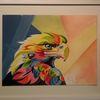 Adler, Malerei, Modern, Tiere