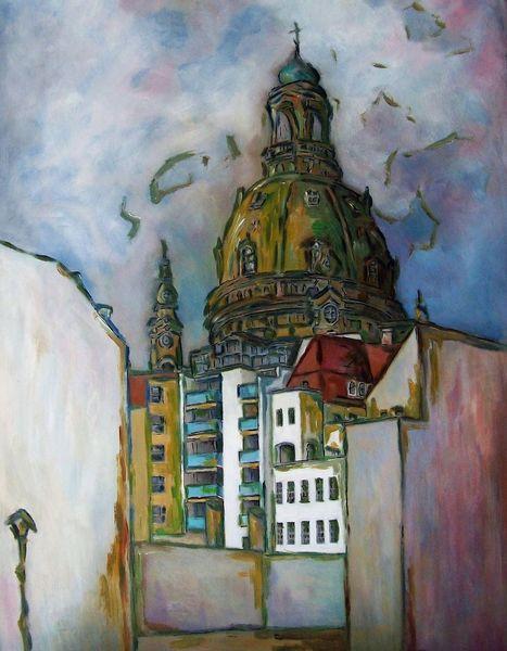 Lücke, Kirche, Dresden, Malerei