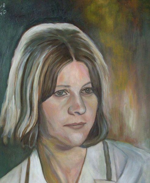 Portrait, Malerei, Jung
