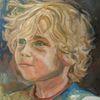 Ölmalerei, Blond malerei, Portrait, Malerei