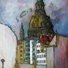 Malerei, Lücke, Kirche, Dresden