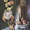 Stillleben, Malerei, Kerzen, Fantasie