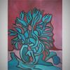 Malerei, Acrylmalerei, Modern, Pflanzen