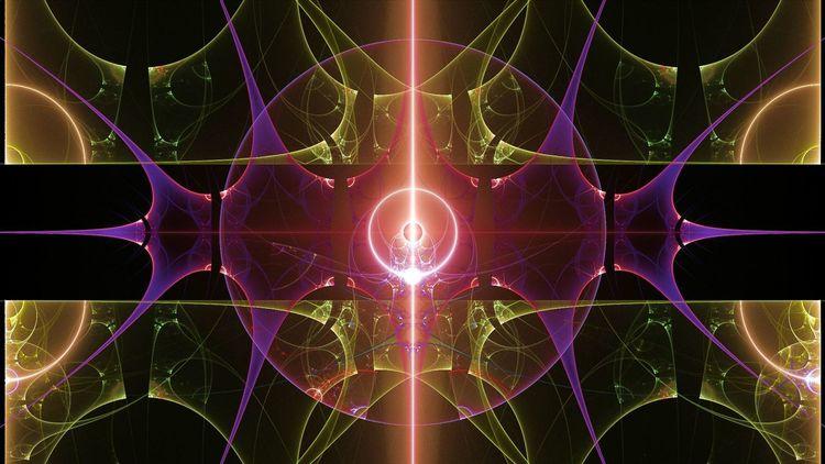 Universum, Abstrakt, Digitale kunst