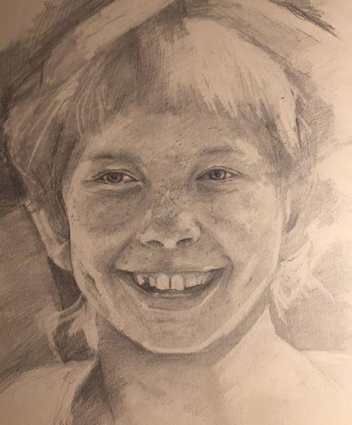 Pipi, Portrait, Pipi langstrumpf, Menschen, Zeichnung, Mädchen