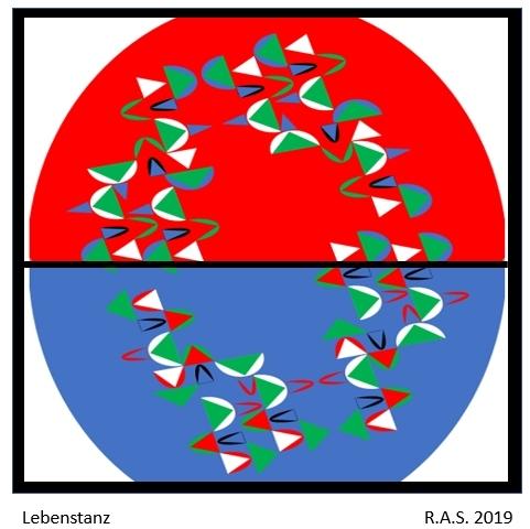 Dreieck, Konkrete kunst, Kreis, Malerei