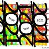 Jahr, Bunt, Zahlen, Digitale kunst