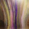 Pouring, Mischtechnik, Farben, Acrylmalerei