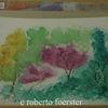 Garten, Aquarellmalerei, Pflanzen, Aquarell