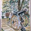 Auf der stromburg, Aquarellmalerei, Din a4, Malerei