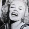 Hollywood, Frau, Zeichnungen,