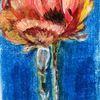 Acrylmalerei, Mohn 2, Malerei,