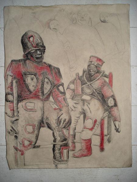 Voodou, Religion, Zeichnungen,