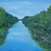 Wasser, Natur, Landschaft, Kanal