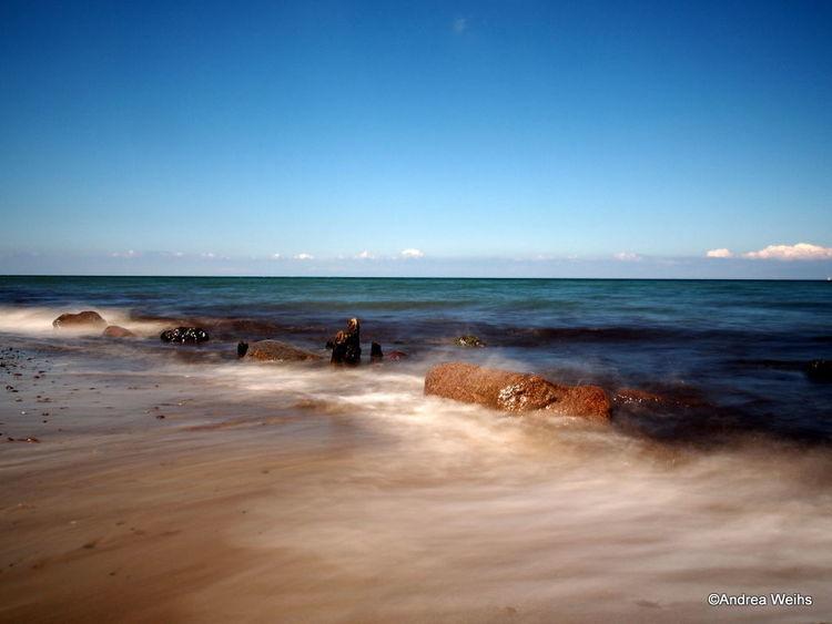 Langzeitbelichtung, Meer, Landschaft, Fotografie,