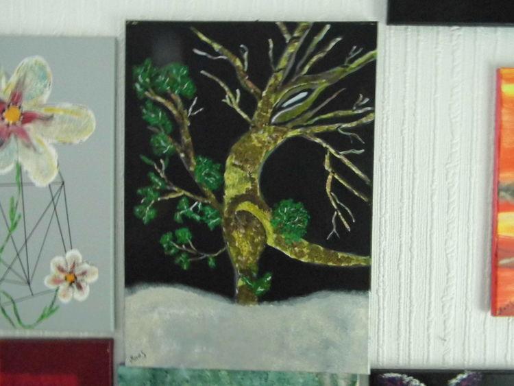 Gedanken, Albtraum, Winter, Malerei