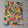 Freude, Farben, Acrylmalerei, Leben