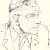 Zeichnung, Martha krug, Portrait, Zeichnungen