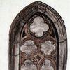 Architektur, Gotik, Fenster, Kohlezeichnung