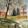 Frühling, Malerei