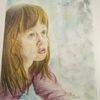 Portrait, Mädchen, Zeichnungen