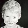 Portrait, Schelmischer blick, Zeichnungen