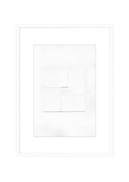 Malerei abstrakt, Farben, Design, Zeitgenössisch, Weiß, Acrylmalerei