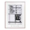 Zeichnung, Mondrian, Modern, Bunt