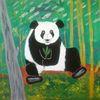 Landschaft, Abstrakte malerei, Tiere, Malerei