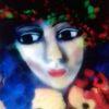 Kürbisse, Gesicht, Blüte, Trauben