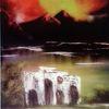 Wasser, Berge, Ruine, Wolken