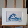 Menschheit, Die welle, Ozean, Abstrakte kunst