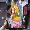 Schwarz, Abstrakt, Bunt, Malerei