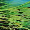 Wasserpflanzen, Acrylmalerei, Alge, Unterwasserwelten