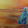 Wüste, Sahara, Landschaft, Tuareg