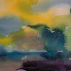 Ursprung, See, Atmosphäre, Malerei